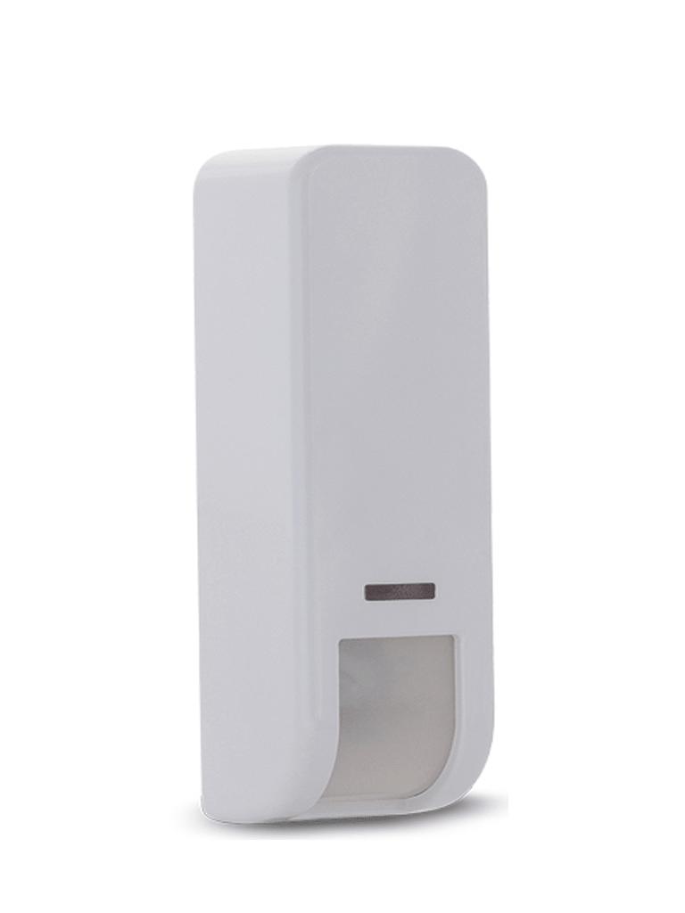 RISCO RWX107DT400A - Sensor De Movimiento De Cortina Inalámbrico Exterior DT / IP 65 / Compatible con Wicomm-Lightsys-Prosys Plus