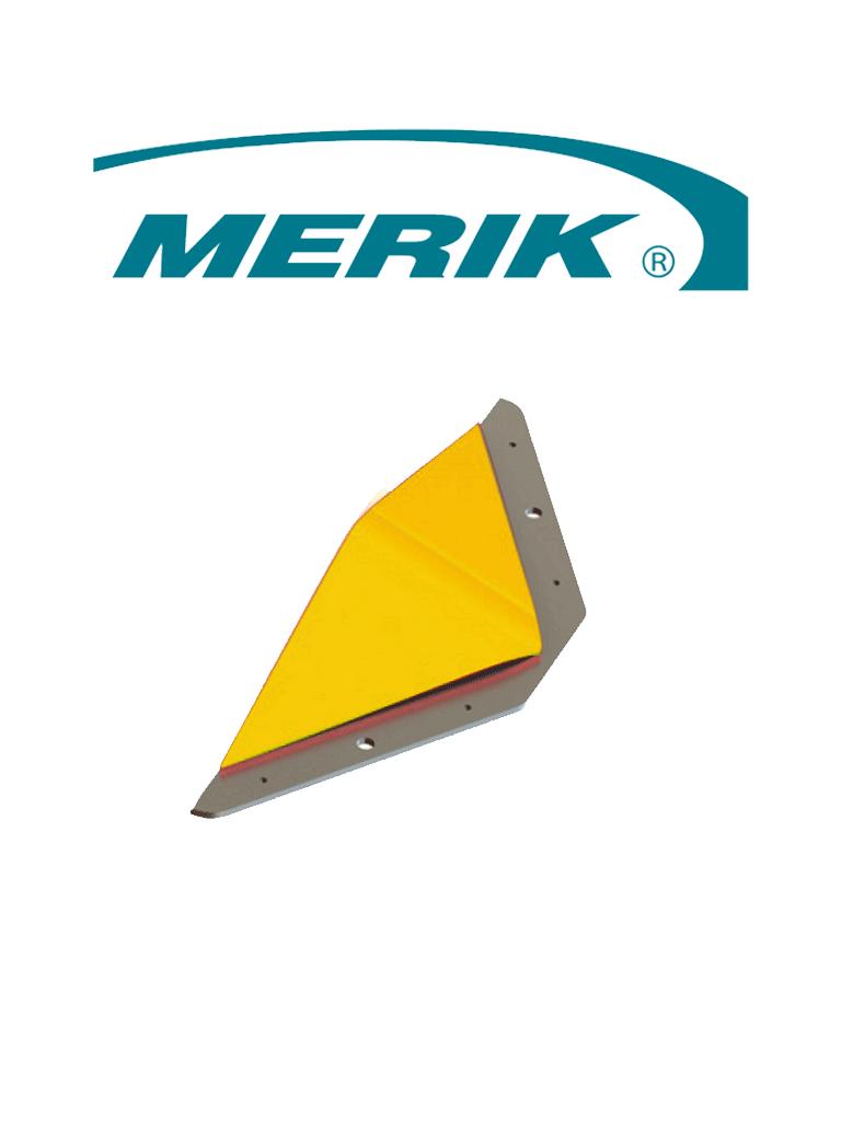 MERIK 12300EY - Cobra par de biseles laterales amarillos para remate final de picos poncha llantas 12300PYp