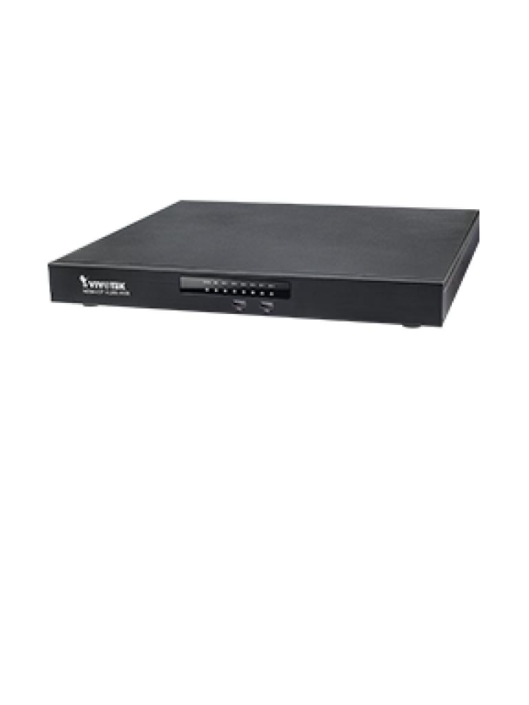 VIVOTEK ND9441P - NVR 16 Canales / 16 Puertos  PoE AF / AT / 160  Watts Total / Auto SETUP / Hasta 4  HDD / Salida  HDMI / EZ CONNECT / THROUGHPUT 192  Mbps