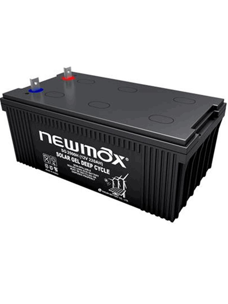 NEWMAX SG1200H - BATERA Solar NEWMAX de gel 12V 120AH 20 HR