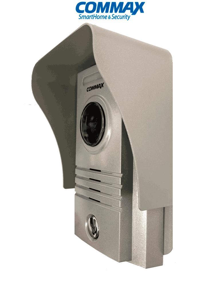 COMMAX DRC40KRS - Paquete de frente de calle DRC40K y cubierta de metal para mayor protección contra la luz del sol y la lluvia