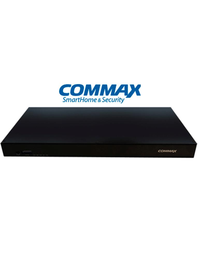 COMMAX CCU232AGF - Distribuidor para panel de audio DR2AG con capacidad para conectar hasta 32 equipos AP2SAG por conexión a 2 hilos, sistema Audiogate para departamentos/ Función de apertura de puerta