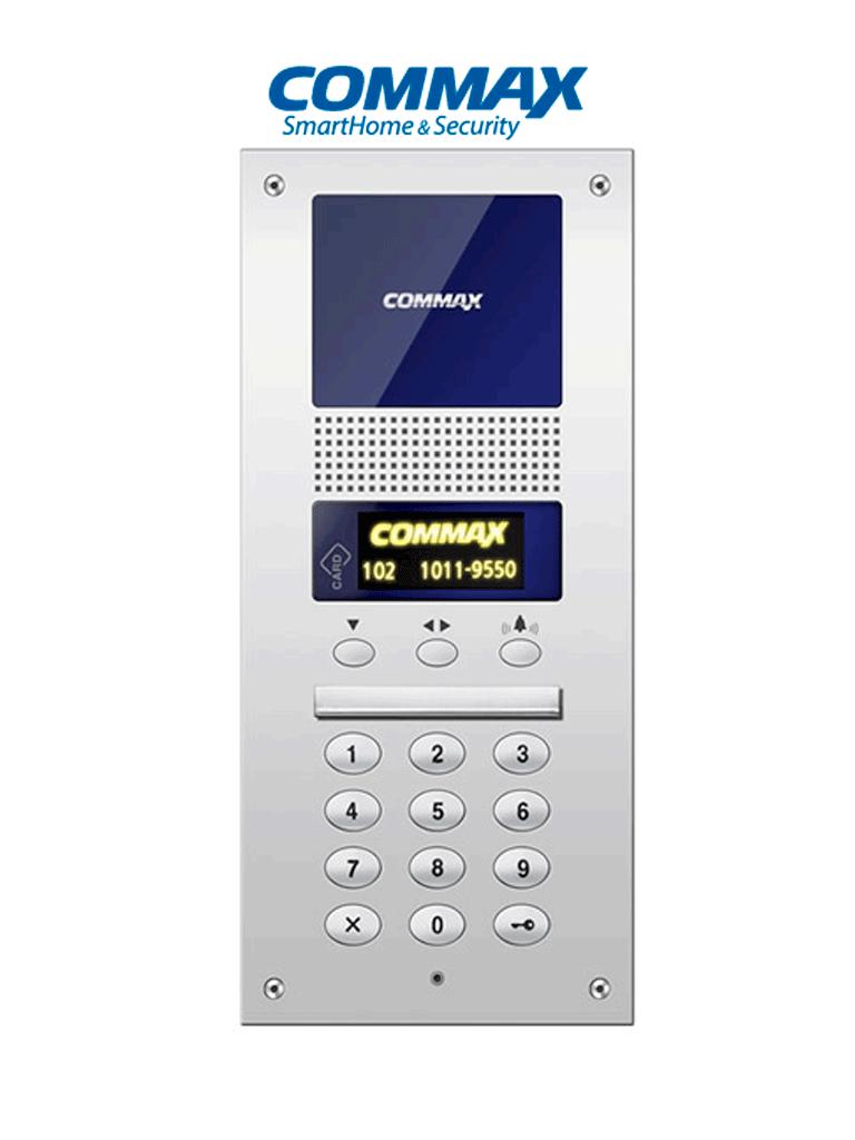 COMMAX DR2AG - Panel de audio / Para edificios / Desde 4 hasta 1000 auriculares / Conexión por 2 hilos / Audiogate
