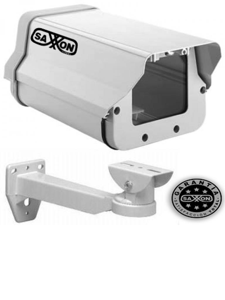 SAXXON HO605SHK - Kit de gabinete blanco tipo FLIP OPEN y brazo / Tipo corto / 25 CM De largo / Blanco
