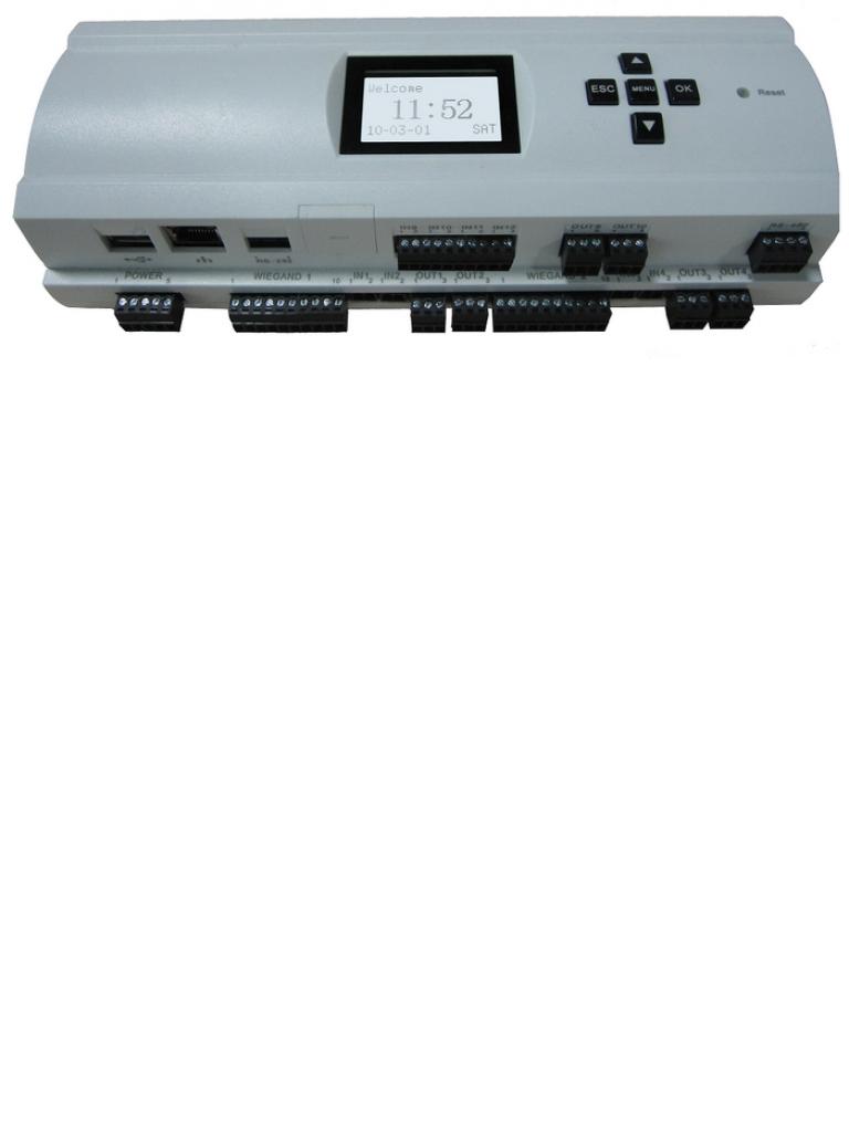 ZKTECO EC10 - Panel para Control de Elevadores / 10 Pisos / 3,000 Huellas / 30,000 Tarjetas / No incluye Fuente / Compatible solo con Software Biosecurity