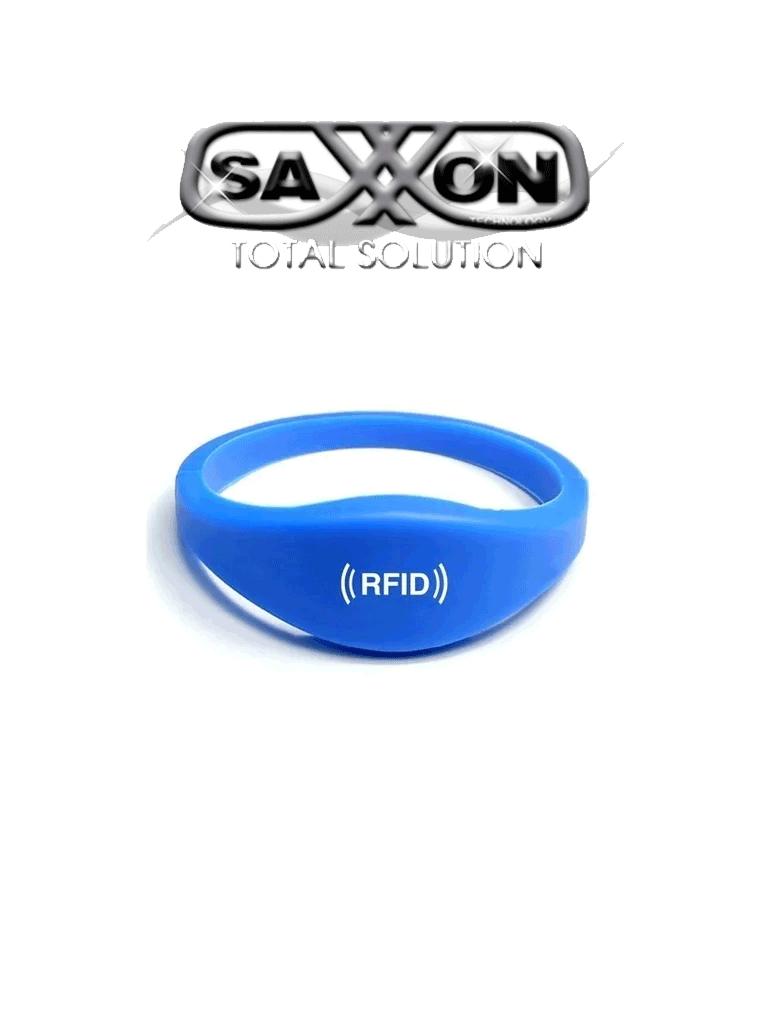 SAXXON BTRW01 - Brazalete de SILICON /  RF ID 125  Khz / Color azul