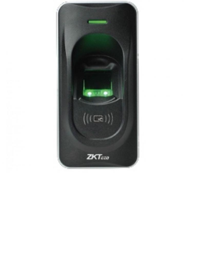 ZKTECO FR1200MF - Lector Esclavo De Huella y Tarjetas MIFARE 13.56 Mhz / IP65 / RS485 / LED Indicador de Estado