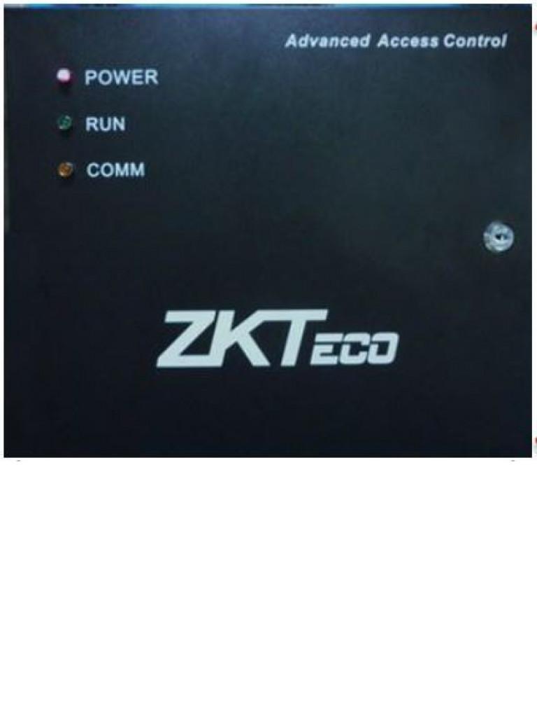 ZK GABMET - GABINETE METALICO PARA PANELES ZKTECO / COMPATIBLE CON PANELES DE CONTROL DE ACCESO ZK / INCLUYE FUENTE DE 12 VCD / CONEXION PARA BATERIA DE RESPALDO