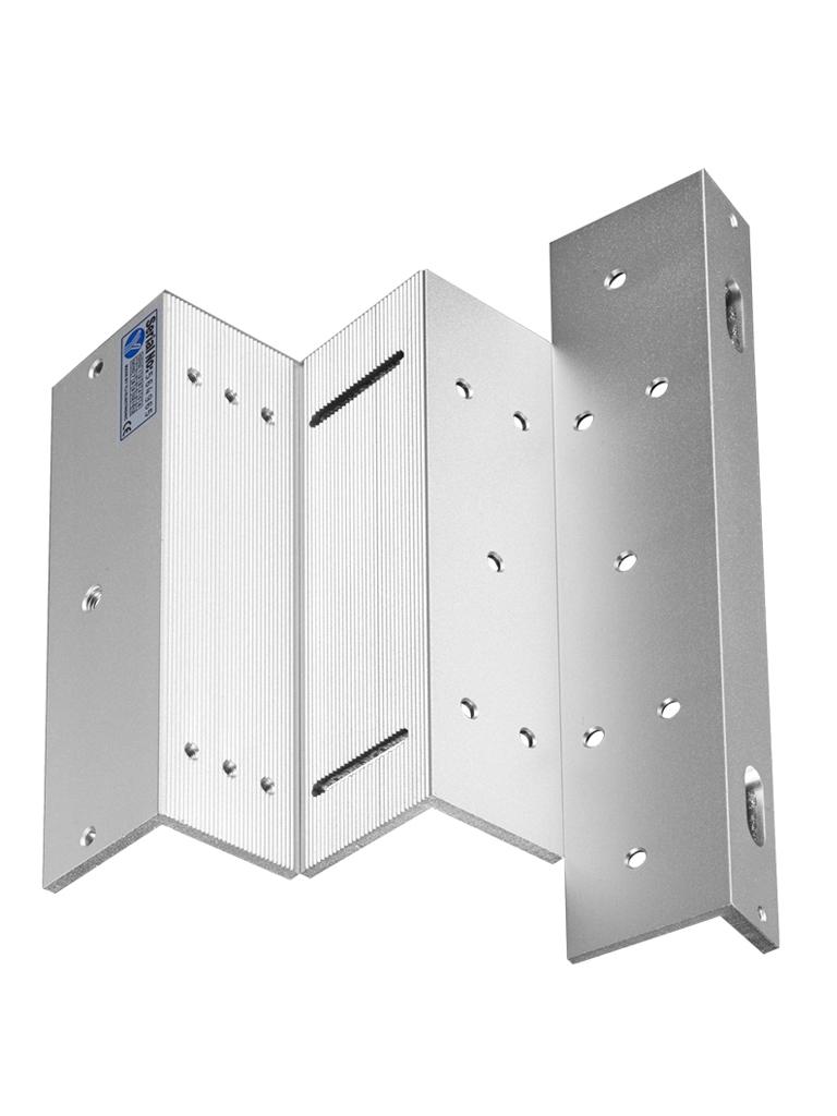 YLI MBK280NZL - Soporte de fijacion  ZL para puerta con apertura interior / Compatible con chapa magnetica YM280N