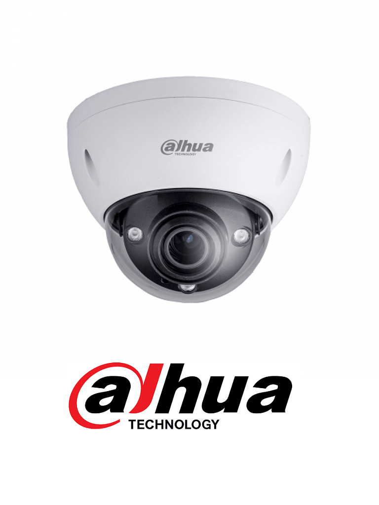 DAHUA IPCHDBW5431EZE - Camara domo IP de 4 megapixeles H265+ / WDR Real / Lente motorizado 2.7 mm a 13.5 mm / Funciones inteligentes /  PoE / ePoE/ #SeriePro/ #UltimosDahua #ExpoTVC