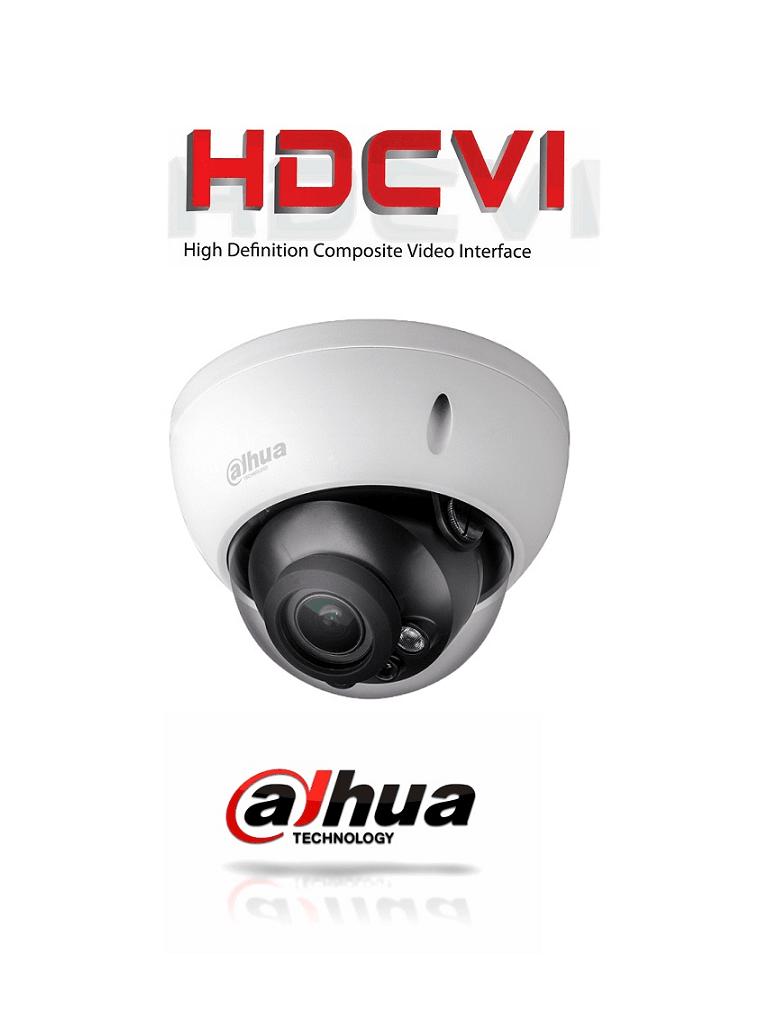 DAHUA HDBW2601RZ - Camara domo antivandalico  HDCVI 6 megapixeles / WDR Real 120 dB / Lente motorizado 2.7 a 13.5  mm / Ir 30  Mts / IP67 / IK10 / Interfaz de audio/ #SeriePro #OfertasAAA #UltimosDahua