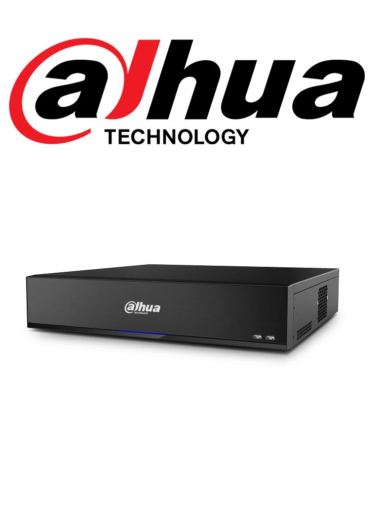 DAHUA XVR7816S4KLX - DVR 16 Canales  HDCVI pentahibrido 4 MP / 4K /  1080p / H265+ / 2 HDMI 4K / 16 Ch IP adicionales hasta 12 MP / IVS / 8 SATA Hasta 80TB/ #UltimosDahua