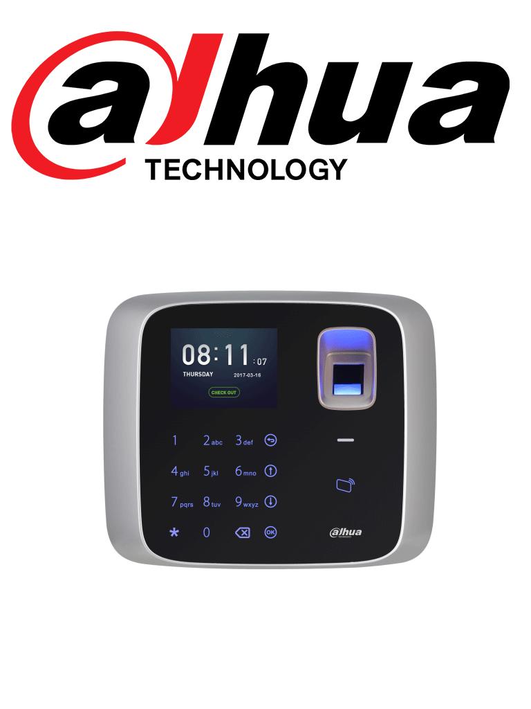 DAHUA ASA2212A - Control de acceso simple y asistencia TCP/IP standalone  / Cámara integrada / 1000 Usuarios / 150,000 Eventos/ 3,000 Huellas y Tarjetas MIFARE #AccesoProfesional
