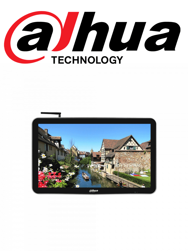 DAHUA LDH22SAI200 - Pantalla  LCD digital SIGNAGE 22 pulgadas / ANDRO ID / Uso interior / Carcasa de metal / Video / Imagenes / Texto administrable remotamente