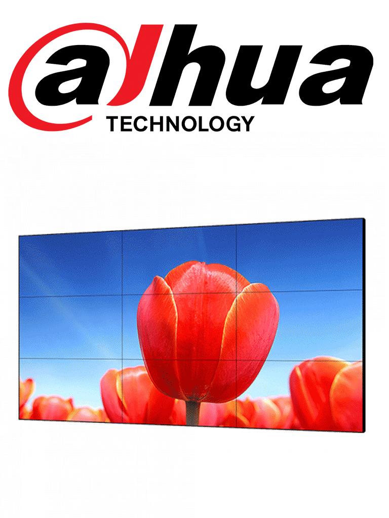 DAHUA DHL460UCMES - Pantalla  LCD 46 pulgadas video wall / Resolucion 1920x1080 / Marco ultradelgado 3.5 mm / Brillo 500 CD / M2 / Contraste 3500 a 1/