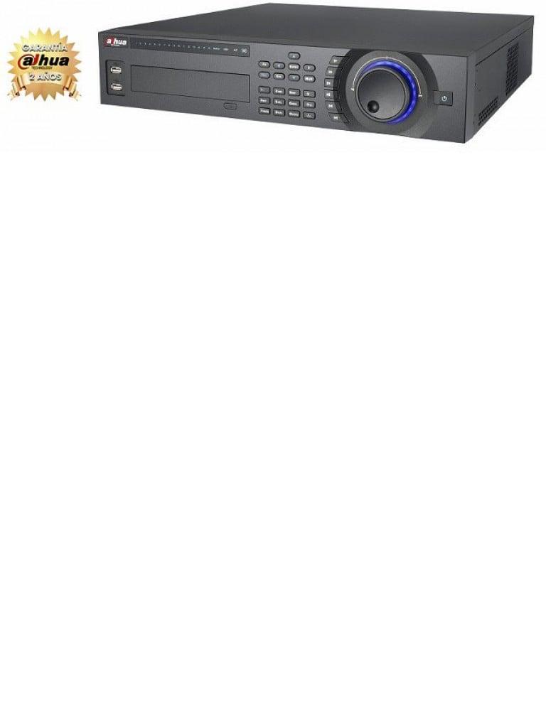 DAHUA NVR5832P- NVR 32 CANALES VIDEO IP/ H264/ RENDIMIENTO 160MBPS/ HDMI&VGA/ 8 PUERTOS POE/ SOPORTA 8 HDD/ ONVIF