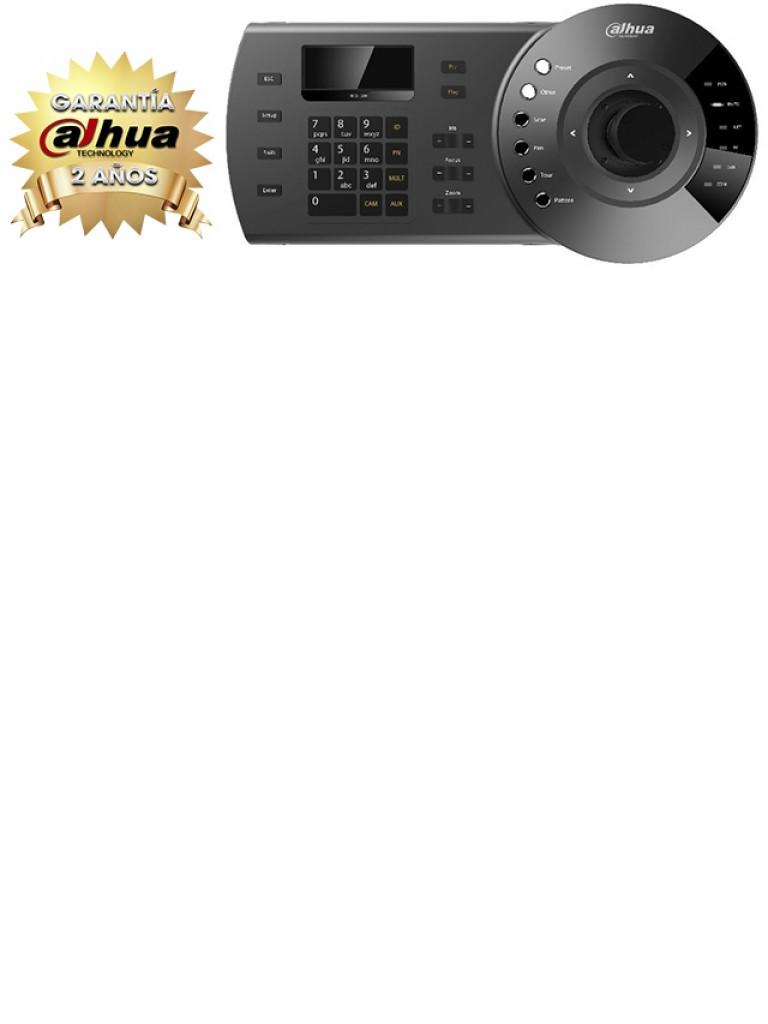 DAHUA NKB1000 - Teclado para controlar PTZ analoga /  HDCVI / E IP / DVR / NVR / PELCO D & p / Pantalla  LCD /  RS485 / RS422 /  USB