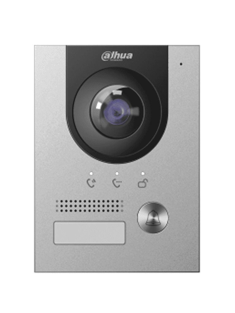 DAHUA VTO2202FP - Frente de calle IP 2 MP / P2P / DMSS / Antivandalico IK07 /  IP65 /  PoE  802.3af  / 10 monitores #TocToc