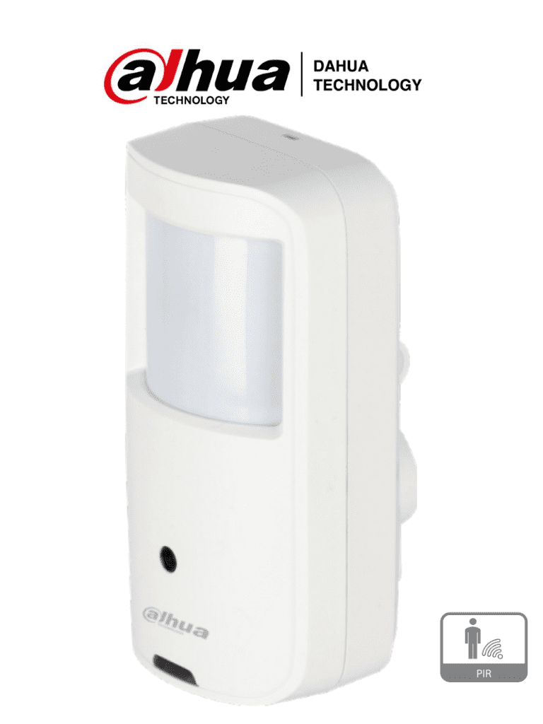 DAHUA ME1200A - Camara Oculta en Sensor de Movimiento/ HDCVI/ 2 Megapixeles/ Lente de 2.8 MM/ Angulo 107/ Pir de 10 Mts con 110 Grados de Detección/ Uso Interior/