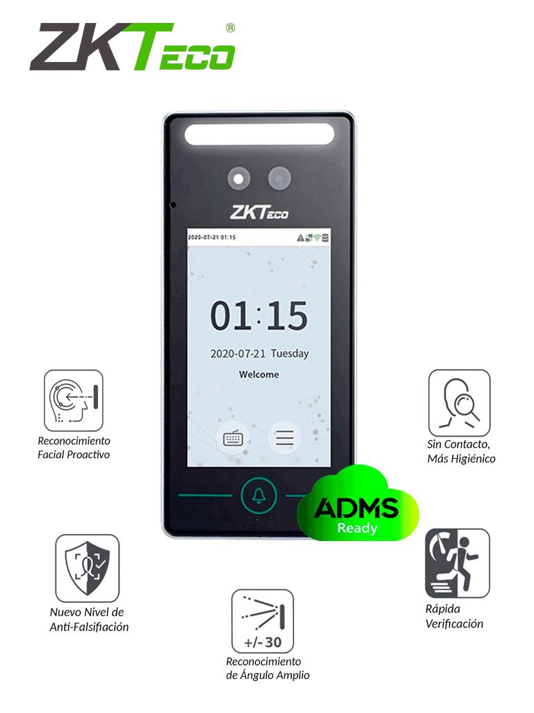 ZKTECO SpeedFaceV4LTA - Control de Acceso y Asistencia Facial  Visible Light / 800 Rostros/ 800 Palmas / 1000 Tarjetas / TCP/IP / Compatible con Bio Time Pro / #MTD / #NuevoZK / #TVCalGritodeMexico / #Monedero