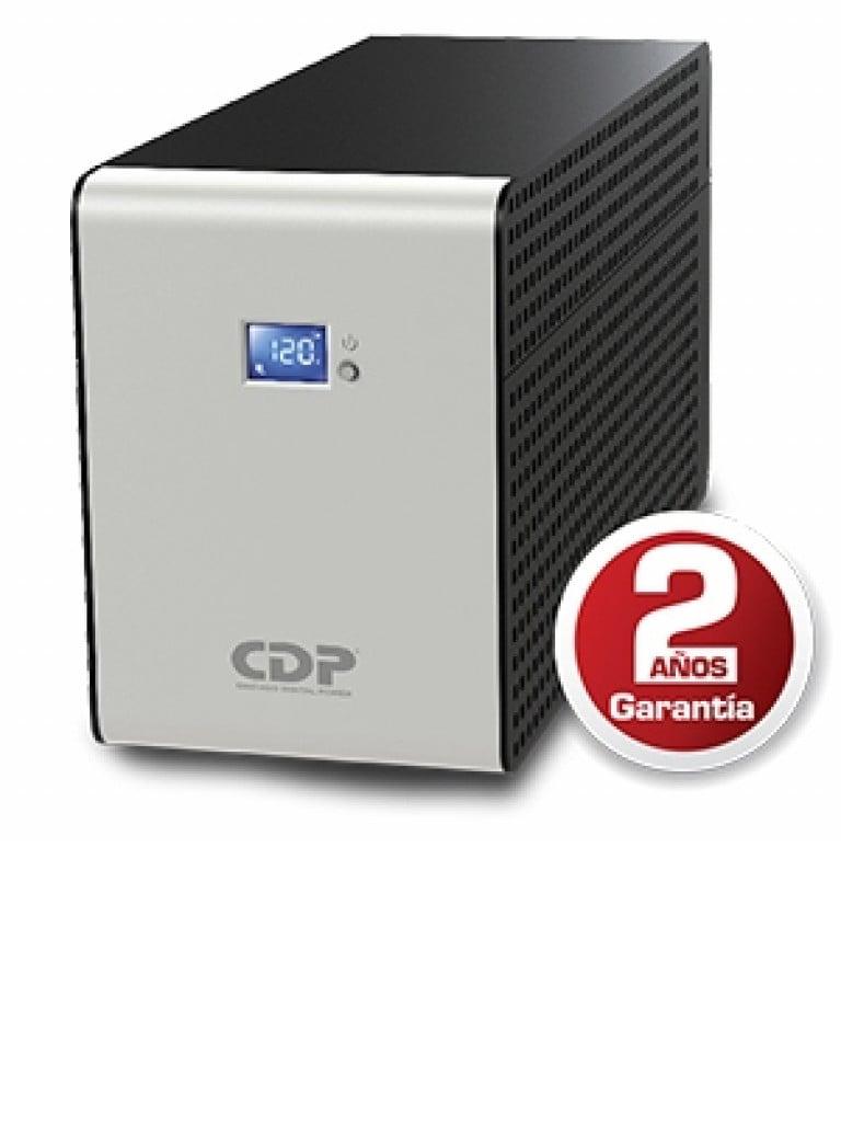 CDP RSMART1510 - UPS / 1500VA / 900W / Pantalla  LCD / 5 Contactos con respaldo y AVR 5 con supresion de picos