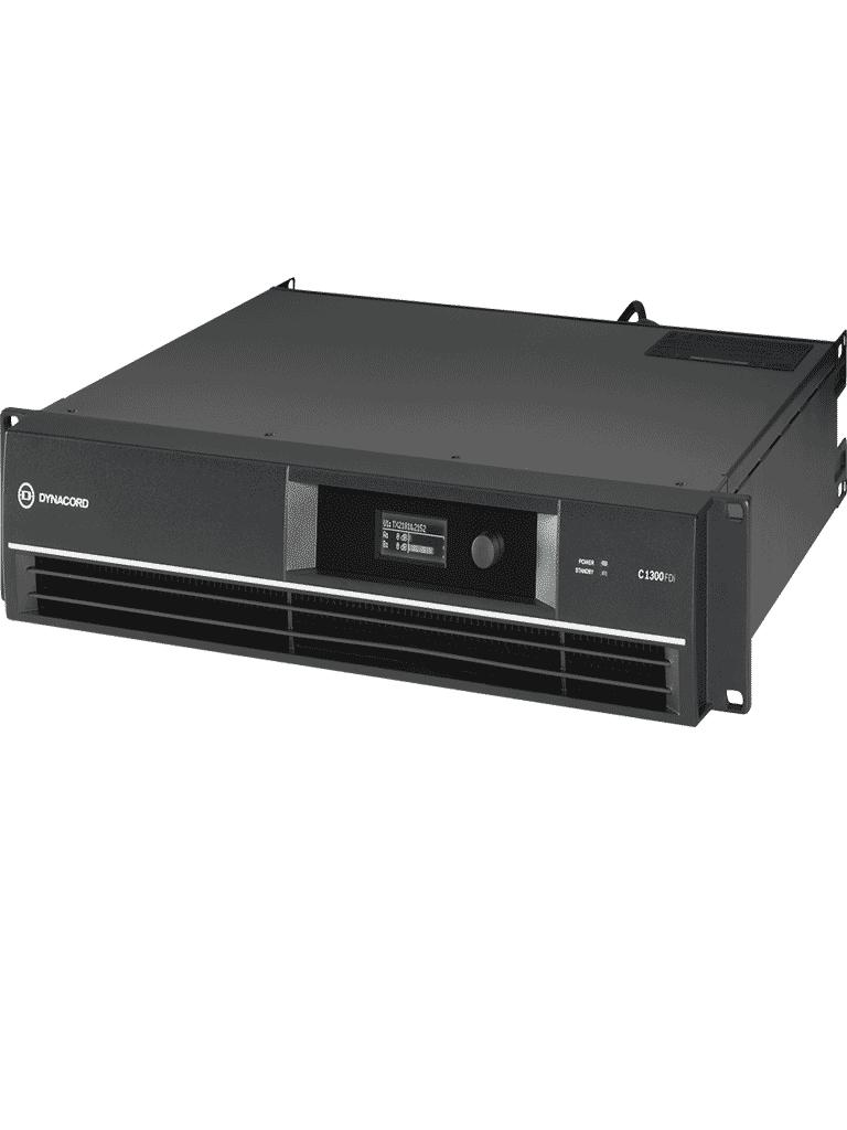 BOSCH M_C1300FDiUS-Amplificador  DSP de 2X 650W/ Baja impedancia 70 O 100V
