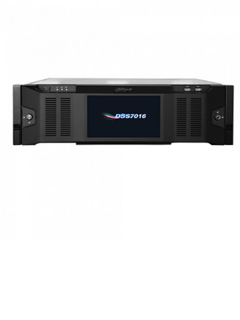 DAHUA DSS7016DR- SOBRE PEDIDO SERVIDOR ADMINISTRACION REMOTA/ 500 DISPOSITIVOS/ 2000 CANALES/ 700MBPS GRABACION/ 15 SATA