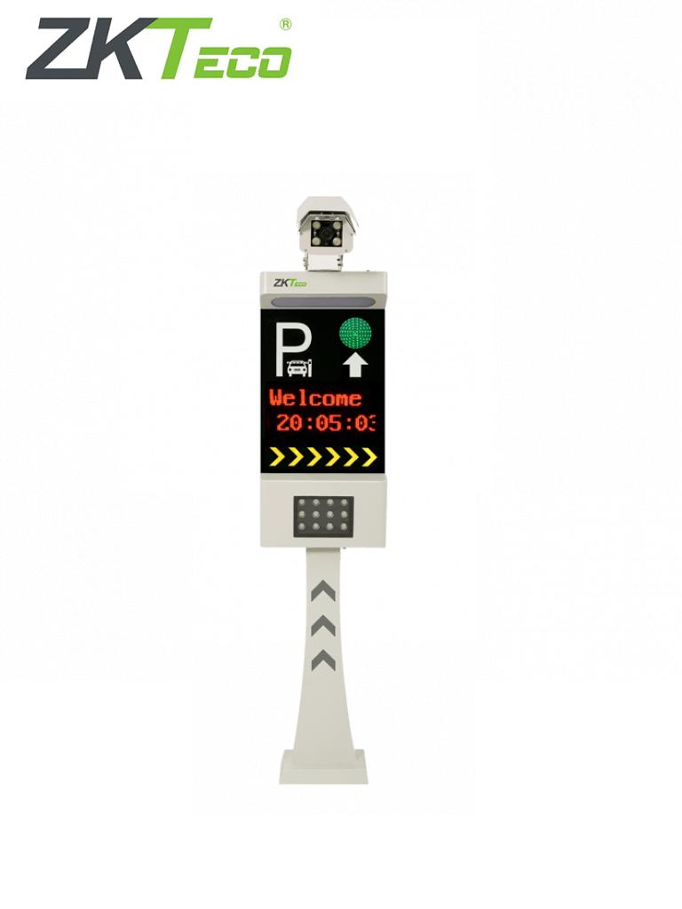 ZKTECO LPRS1000 - Cámara LPR de Reconocimiento Placas / Conexión TCP/IP / Pantalla  LCD / Luces LED para mayor Iluminación / Un Carril / Semáforo e Indicadores Audibles