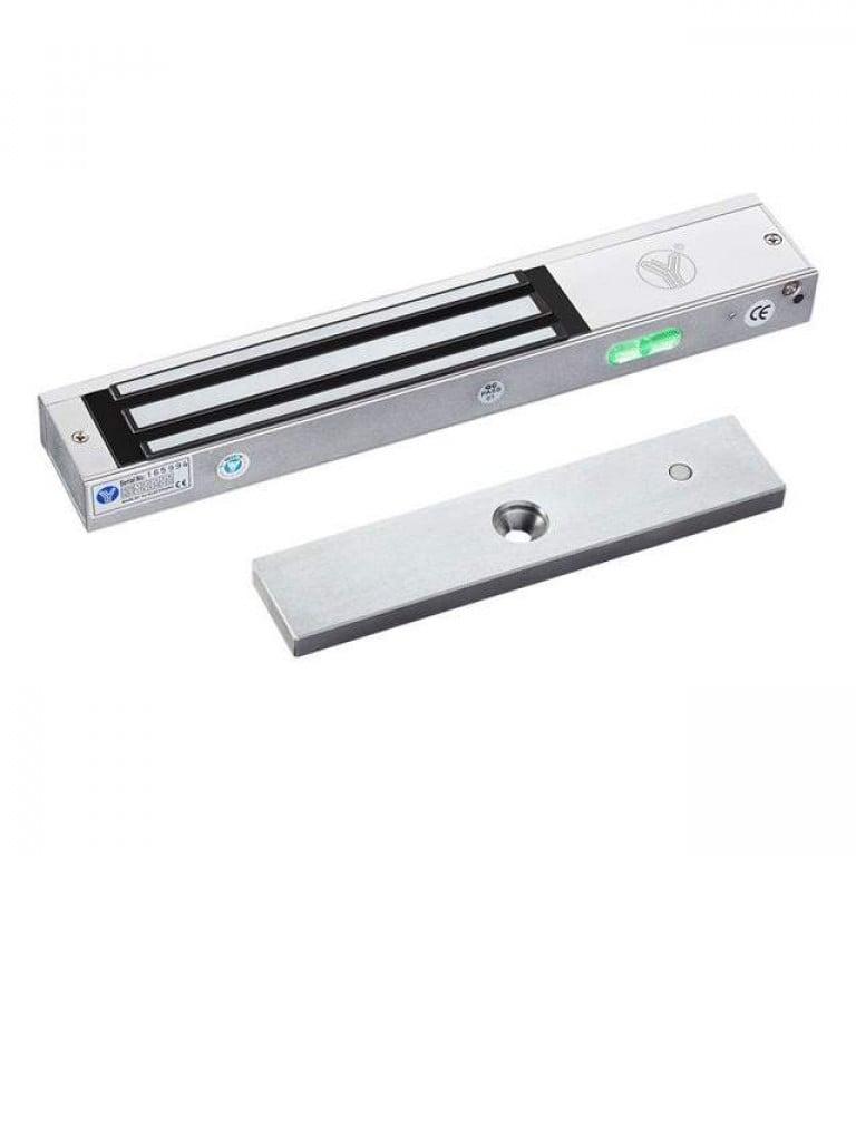 YLI YM280CAM - Cerradura magnetica para control de acceso en puertas incluye camara de CCTV oculta de 550TVL / 280Kg o 600Lb