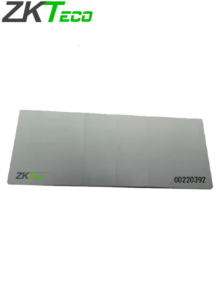 ZKTECO UHFT4 - TAG Adherible para Vehículos Tecnología UHF / Blanco / Folio Impreso / Rango de Frecuencia 902 A 928 Mhz / Compatible con Lectoras U1000F, UHF5F y UHF10F