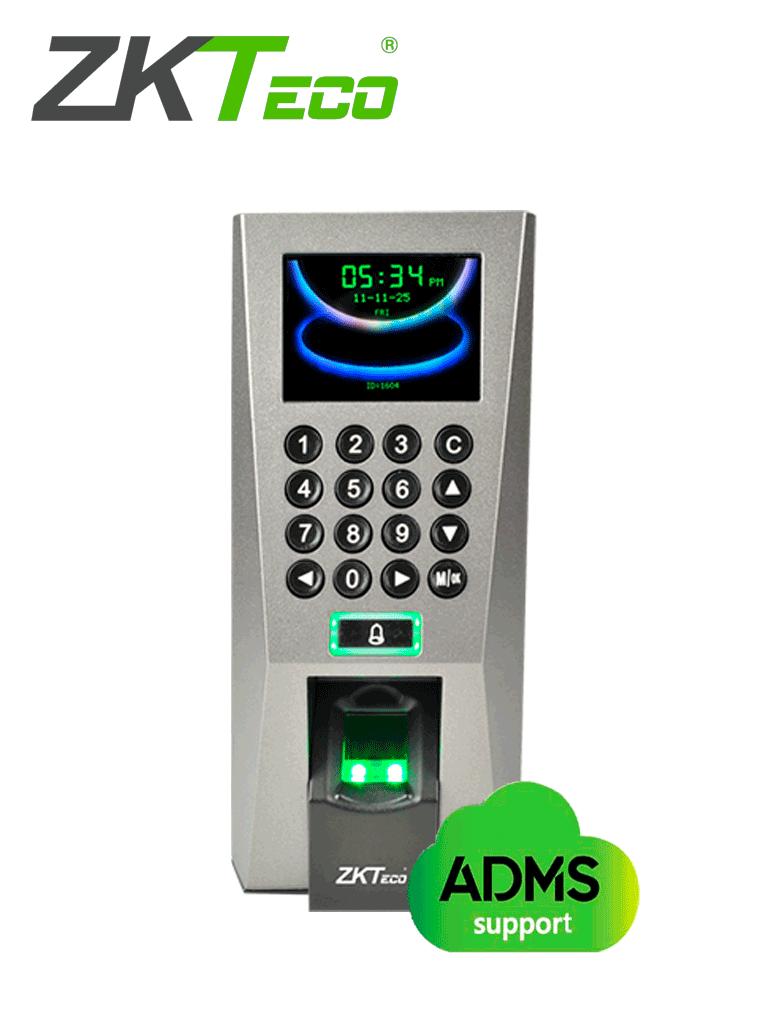 ZKTECO F18MF - Control de Acceso y Asistencia / 3000 Huellas / 5000 Tarjetas Frecuencia 13.56 Mhz / 30000 Registros / Tarjetas MF / TCPIP /  USB / Compatible con Software Gratuito ZK Access 3.5