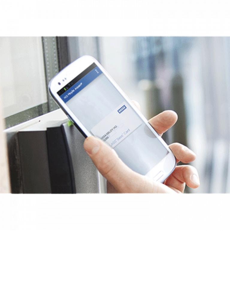 HID MOBILEID - Tarjetas virtuales  H ID MOBILE access usadas en SMARTPHONE / Para acceso via BLUETOOTH o  NFC con lectores  H ID / 100 PZ / SOBREPED IDO