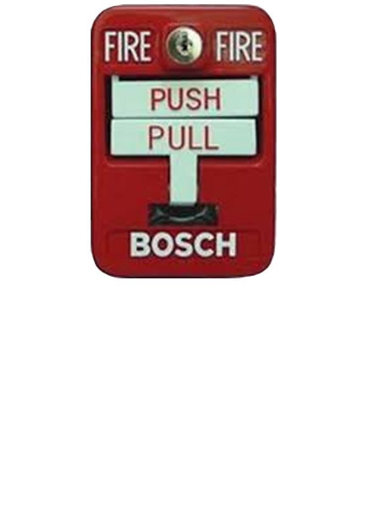BOSCH F_FMM7045D- PULSADOR MANUAL DE INCENDIO DIRECCIONABLE DE ACCION DOBLE COLOR ROJO