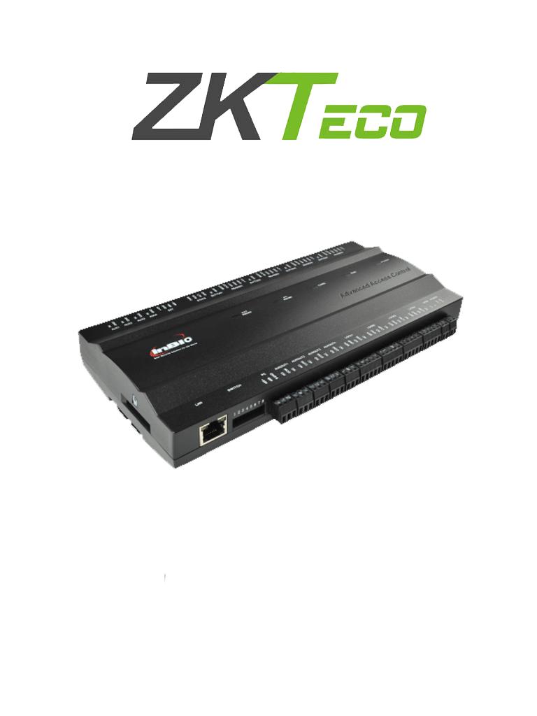ZKTECO INBIO460 - Control de Acceso para 4 Puertas / 4 Lectoras / 20000 Huellas / 100000 Registros
