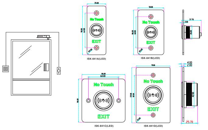 Sisterma-de-control-de-acceso-y-de-asistencia-basico-brinda-acceso-al-personal-por-medio-de-huella-tarjeta-y-password-con-boton-liberador-Dahua-YLI-ISK841BLED-SAXXON-1