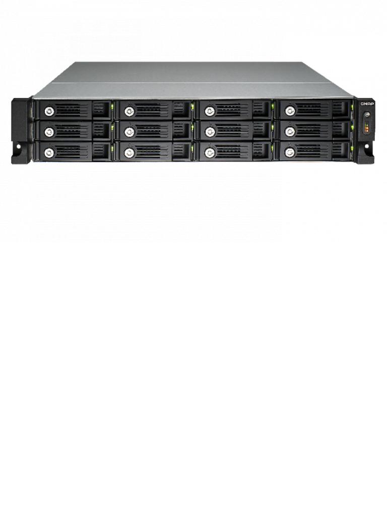 QNAP TS1253U - NAS SERVIDOR DE ARCHIVOS/ RACKEABLE/HASTA 12 HDD/ 4 GB RAM/ 4 GIGABIT LAN/EXPANDIBLE/NO INCLUYE RIEL