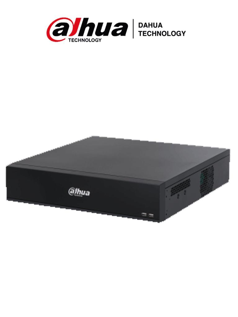 DAHUA NVR5864-I/L- NVR de 64 Canales IP /hasta 24 MP/ WizMind/ H265+/ H265/ H264/ 320 Mbps de grabación/ 2 HDMI/ #Proyectos