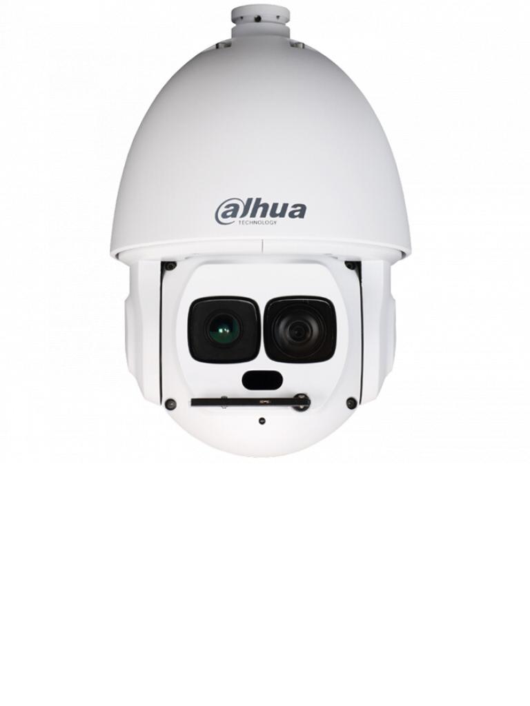 DAHUA SD6AL240HNI- CAMARA IP PTZ 40X ZOOM OPTICO 1080P/AUTOTRACKING/IVS/LASER IR 500 MTS/HI POE/IP67/EIS/ROI/ANTI NIEBLA