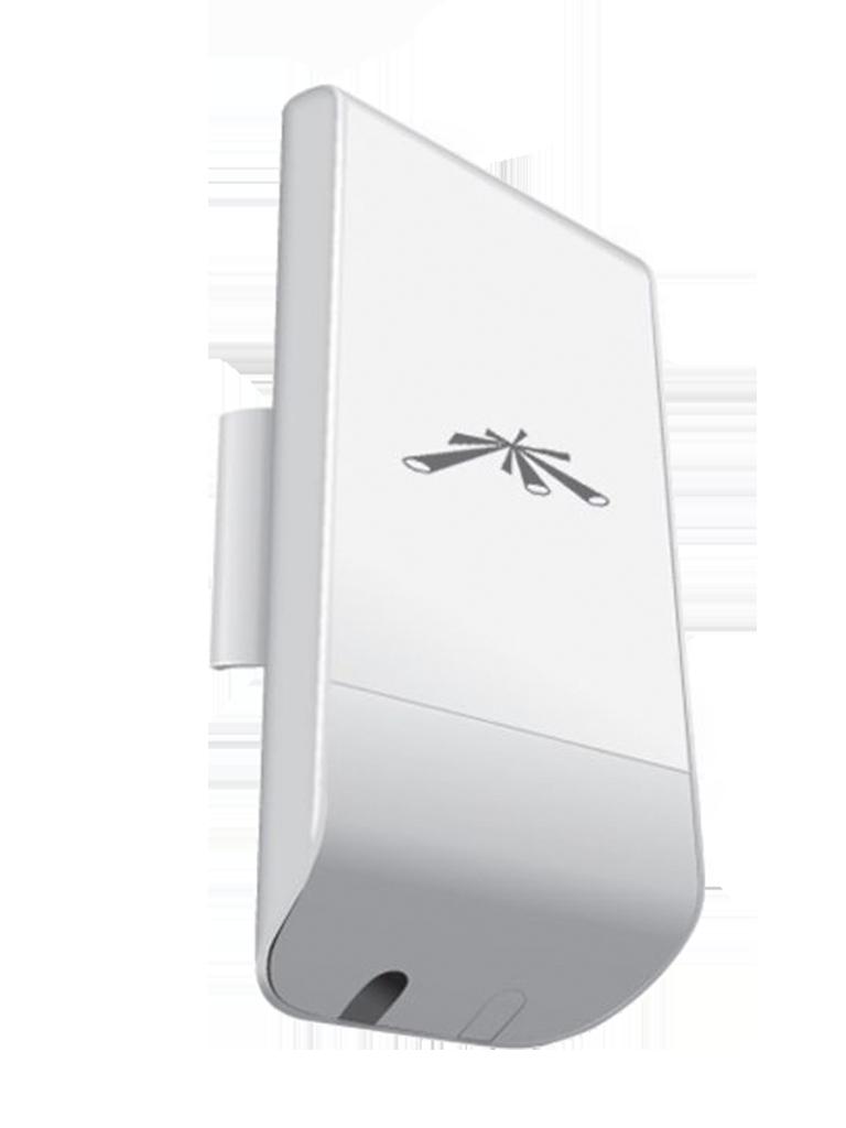 UBIQUITI NANOSTATION LOCOM5 - Radio con antena integrada Airmax 5.8GHz / Exterior / MIMO / Antena panel 13 dBi / 23 dBm / Rendimiento hasta 150 Mbps