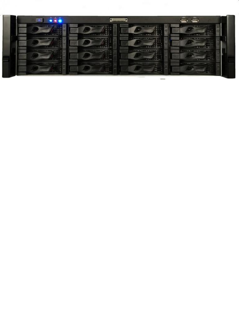DAHUA NVR6161284K - SUPER NVR 128 CANALES DE VIDEO IP 4K / H264 / 2 HDMI / 1VGA / 16 INTERFAZ SATA / RENDIMIENTO 320MBPS