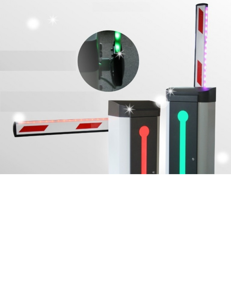 WEJOIN WJDZ120R3A - Brazo  LED derecho de 3 metros / Compatible con barrera  LED derecha TVB150014
