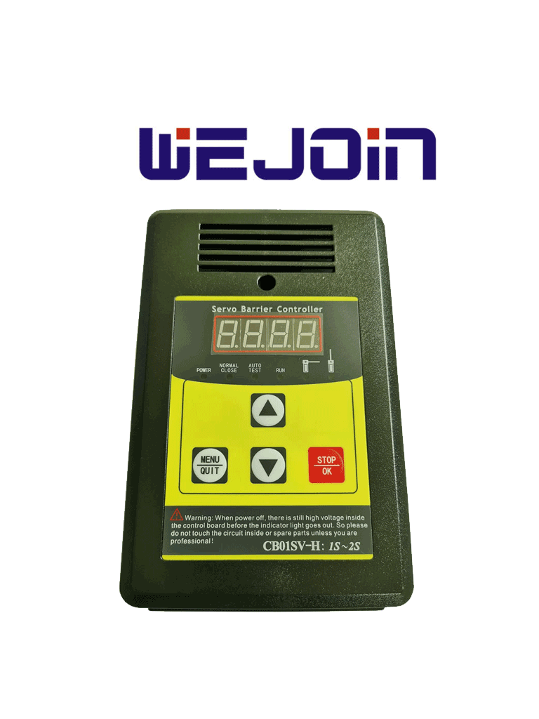 WEJOIN WJBCP04 - Panel de control para barrera / Para WJCB01SV-H / Contactos UP DOWN