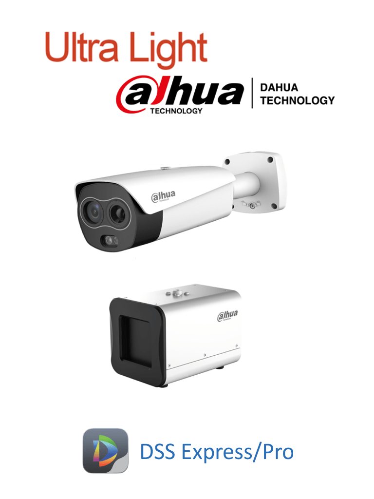 DAHUA BF5421PAQ1 - Sistema de Medición de Temperatura Corporal Ultra Light/ Cámara Térmica Híbrida/ Blackbody/ Requiere licencia DSS Express #COVID19