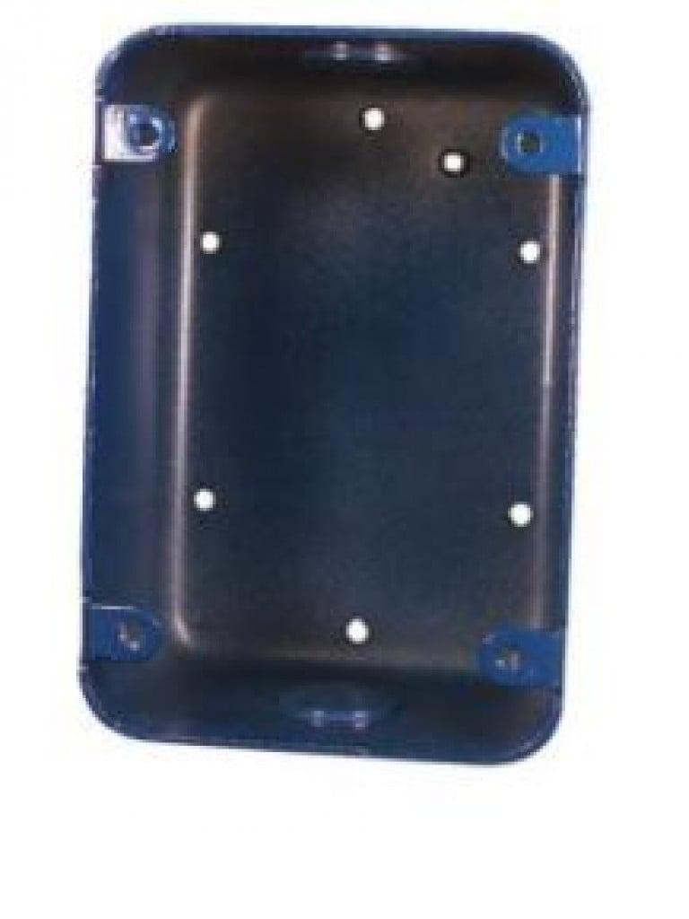 BOSCH F_FMM100BBB - Caja para montaje de estacion manual convencional en color azul