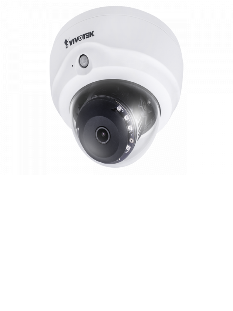 VIVOTEK FD8182T - Camara IP domo interior 5  MP / DWDR /  PoE / Ir 30  Mts / Audio / MICROSD / SDHC / SDXC / Smart stream / Enfoque remoto