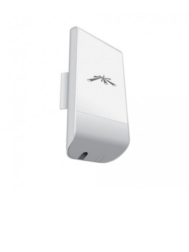 UBIQUITI NANOSTATION LOCOM2 - Radio con antena integrada Airmax 2.4GHz / Exterior / MIMO / Antena panel 8 dBi / 23 dBm / Rendimiento hasta 150 Mbps