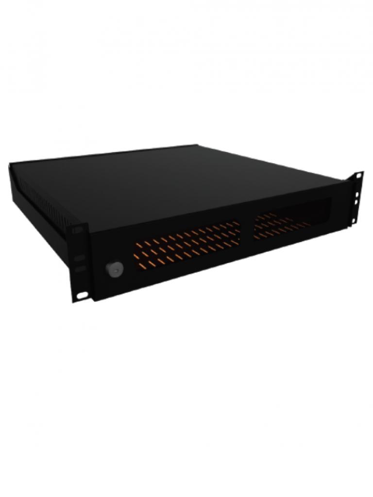LACES LA300GDVR2 - Gabinete para resguardo de DVR / 2 UR / 19 Pulgadas / Acero calibre 18
