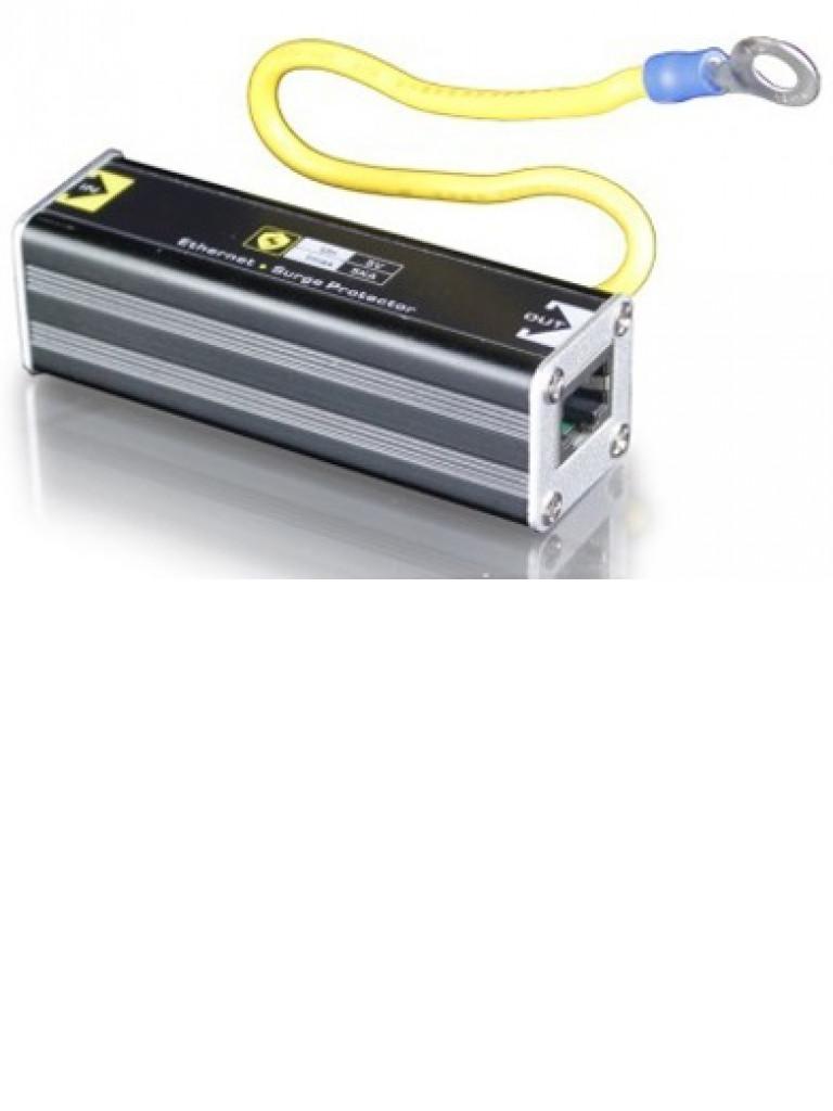 SAXXON USP201E - Protector de sobrecargas para redes / 1 PTO Fe / Para equipos de red en general / Hasta 20V