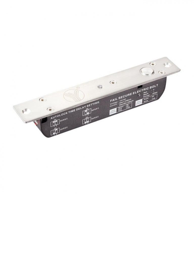 YLI YB700ALED - Cerradura electrica / De uso rudo para control de acceso / Retardo de 3,6 y 9 segundos / 2000  Kg Fuerza de sujecion