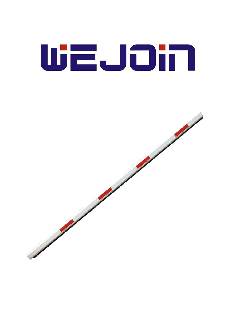 WEJOIN WJSSBM3 - Brazo recto de 3 metros / Caucho inferior / Sistema de brazo oscilante